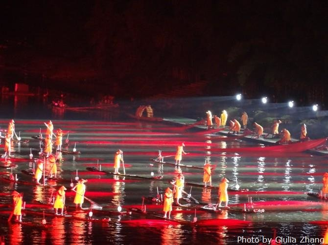 Impression Liu Sanjia Show at the Li River
