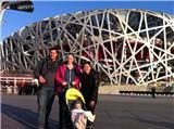 Exterior visit of Beijing Olympic Stadiums(Bird's Nest and Water Cube)