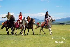 Litang Horse Racing Festival
