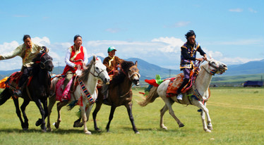 Nagqu Horse Racing Festival in 2020