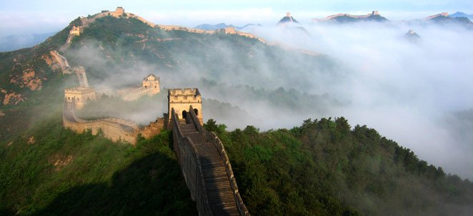 The Great Wall at Jinshanling