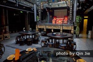 Китайские традиционные украшения и мебели