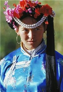 Mosuo people in Lijiang