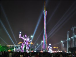 guangzhou tv and sightseeing tower