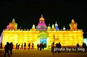 Ice sculptures, Harbin, China