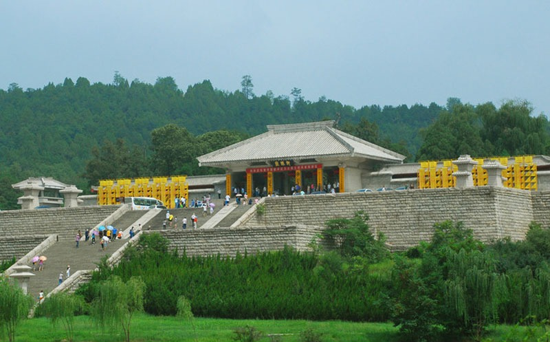 The Yellow Emperor (Huangdi) Mausoleum Scenic Area