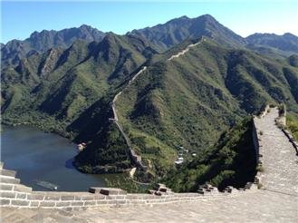 "The Huanghuacheng Section — the ""Lakeside Great Wall"""