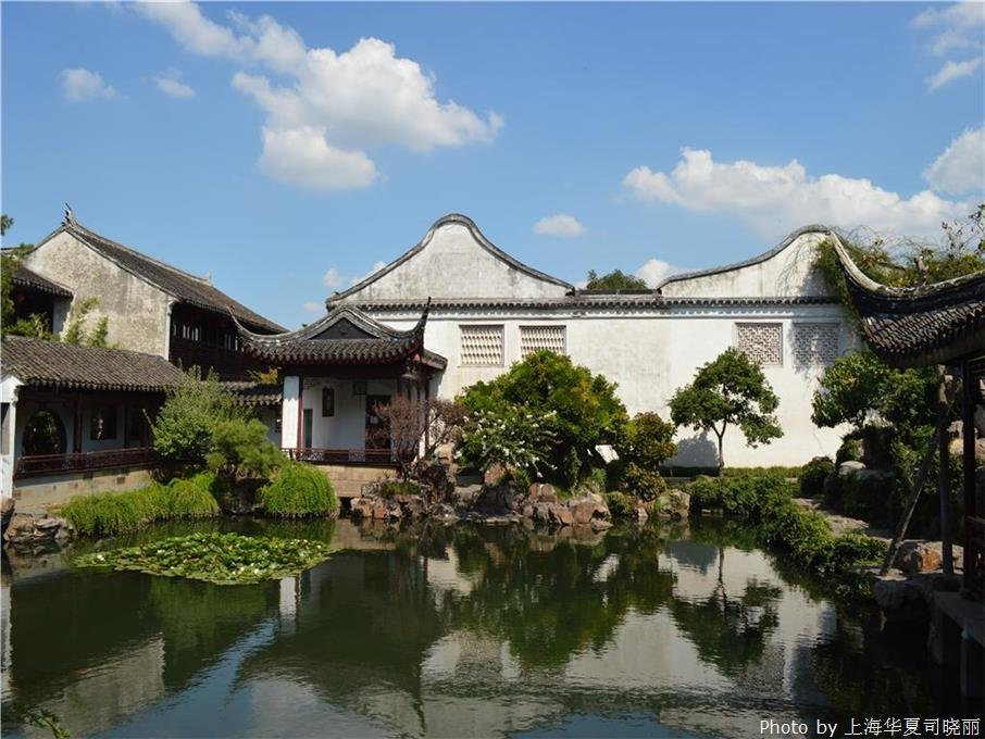 Beautiful scenery of Suzhou, the heaven on earth