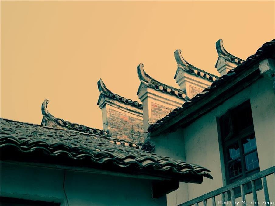 Jiangtou Ancient Village In Jiuwu