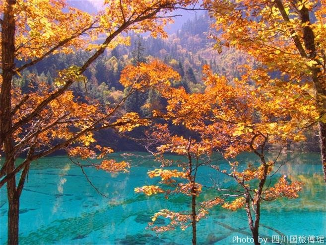 Autumnal Jiuzhaigou beauty