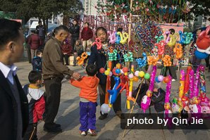 How did chinese people celebrate spring festival?