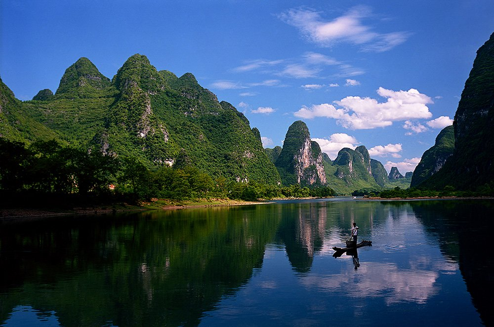 Inside Guide on the Li River