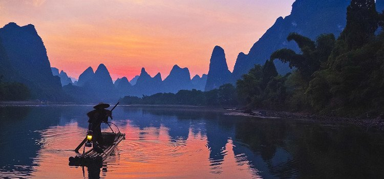 Sunrise in Xingping
