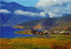 Mosuo people live in Lugu Lake