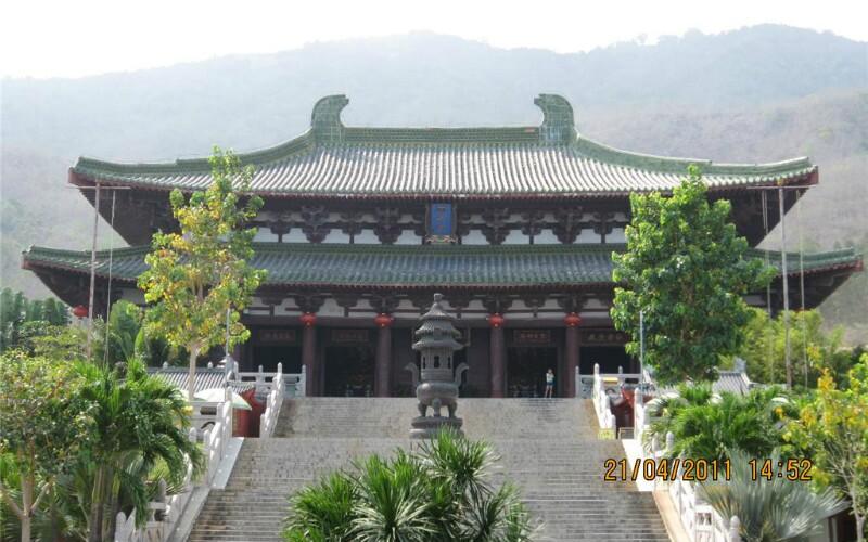 Nanshan Cultural Tourism Zone in Sanya