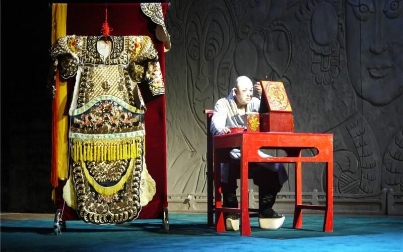 Beijing Opera Stage Set-up