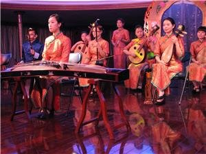 Guzheng performance show