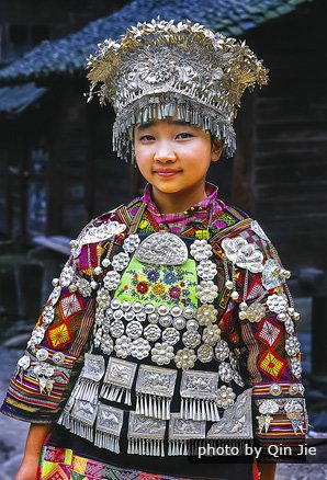 Young girl in Datong