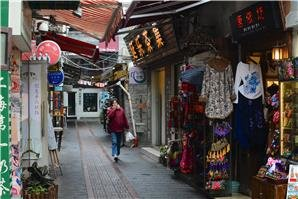Shopping street, French Concession