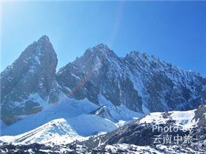 scenery of the jade dragon mountain