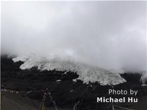The karola glacier