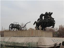 the museum of imperial carriages of the emperor of zhou dynasty
