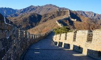 the mutianyu great wall