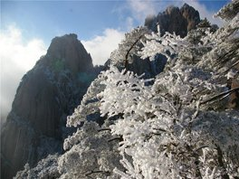 Snow on Huangshan