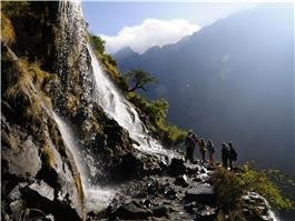 Hiking trail of Tiger Leaping Gorge