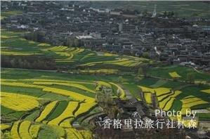 Scenery around Stone Drum Town at the First Bend of the Yangtze River