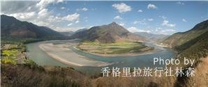 view the first bent of yangtze river at the stone