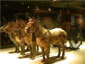 xian the terra-cotta warriors and horses