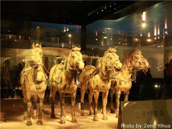 emperor qin's terra-cotta warriors and horses