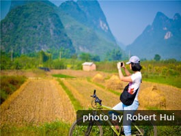 Bike in Yangshuo