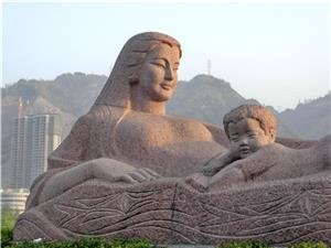yellow river mother sculpture lanzhou