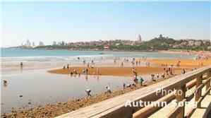 Golden Island beach in Qingdao