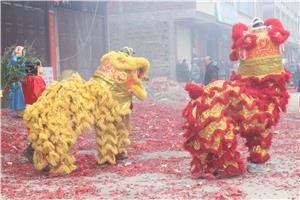 Chinese new year preparations and celebrations