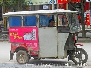 Guilin Auto Rickshaw