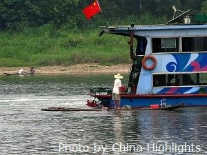 Li River cruise ship