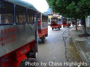 Guilin Auto Rickshaws