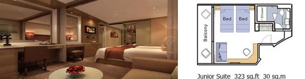 New Century Paragon Junior Suite