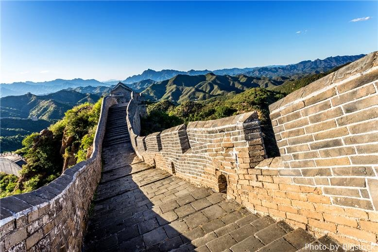 Beijing's famous Great Wall
