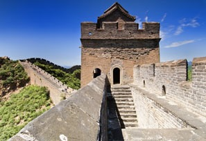 the Great Wall of China, Great Wall watchtower