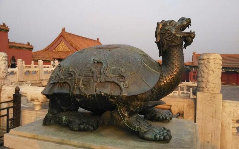 Chinese Tortoise Statues