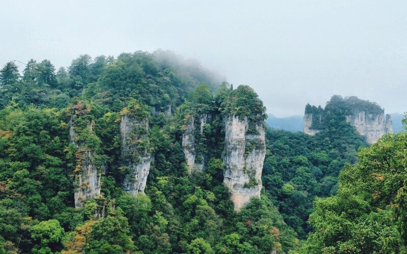 Mt. Yuntai - World Geological Park