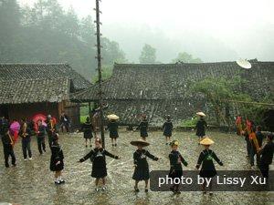 Langdeshang Miao village