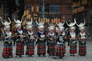 kaili minority people