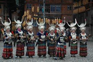 kaili minority people