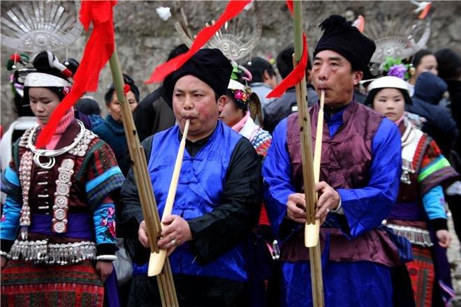 zhouxi lusheng festival