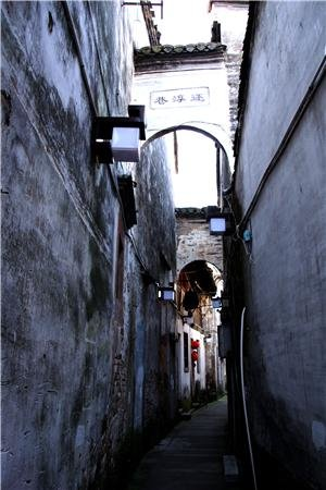 Huangshan Tuxi Old Street Huangshan Attractions